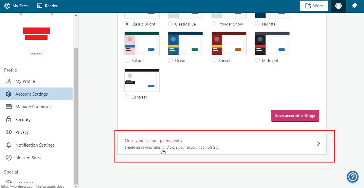 How to Delete Your WordPress.com Account