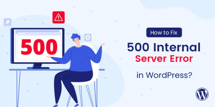 500 Internal Server Error Wordpress Featured Image