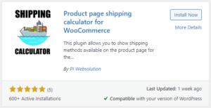 shipping calculator plugin